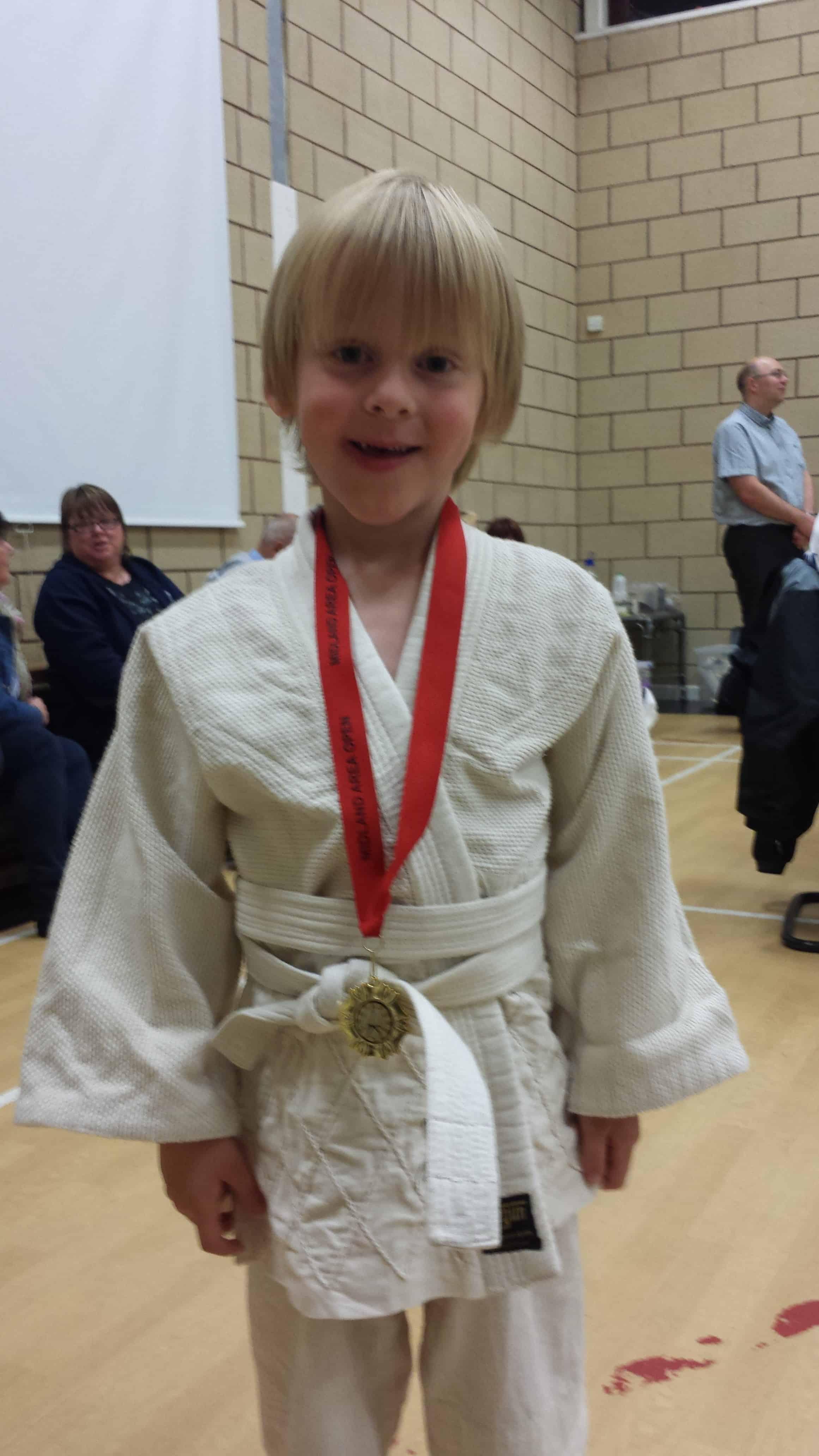 My Son at Judo