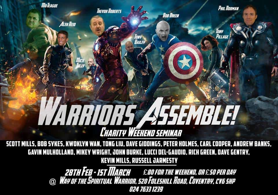 warriors assemble